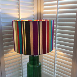 Country Style multi coloured stripe