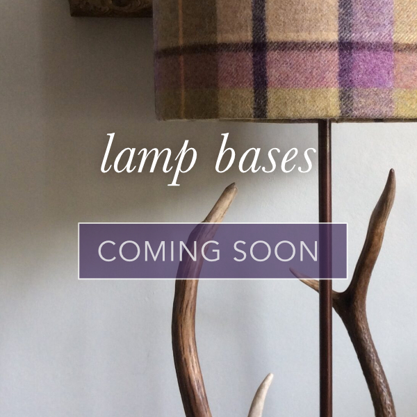 Lamp bases coming soon home page cat