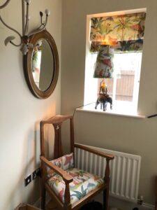 monkeys fabric handmade lampshade