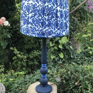 Hettie lamp base - Dark Navy Blue